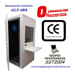 Cabina Audiométrica SST80 para reconocimientos psicotécnicos de conductores